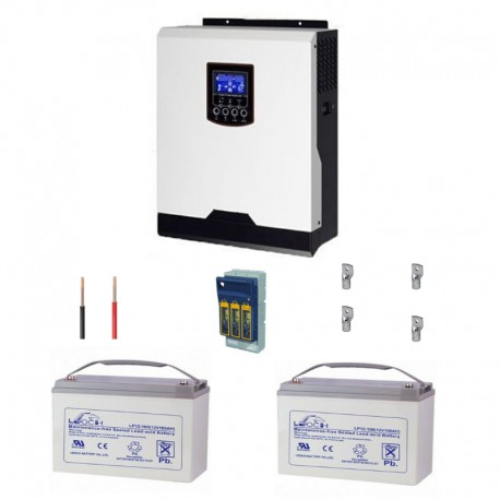 3kva backup kit with 1200w storage