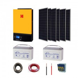 3 KW Solar Kit 2.4 KW storage