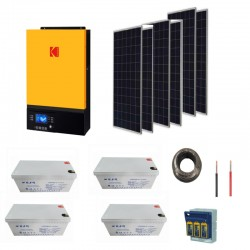 5kW Solar Kit- 2.88kw Storage