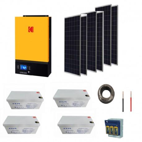 5kW Solar Kit- 2.88kw Storage