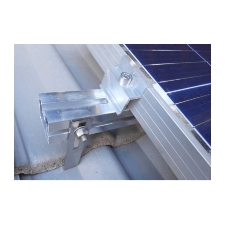 10 Panels Tiled Roof mounting kit