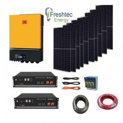 Solar Kit 7.2kW 48V with pylon Us3000 7kw